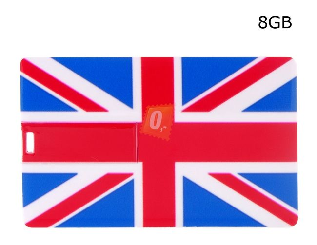 8GB Flashdisk - Union Jack 1