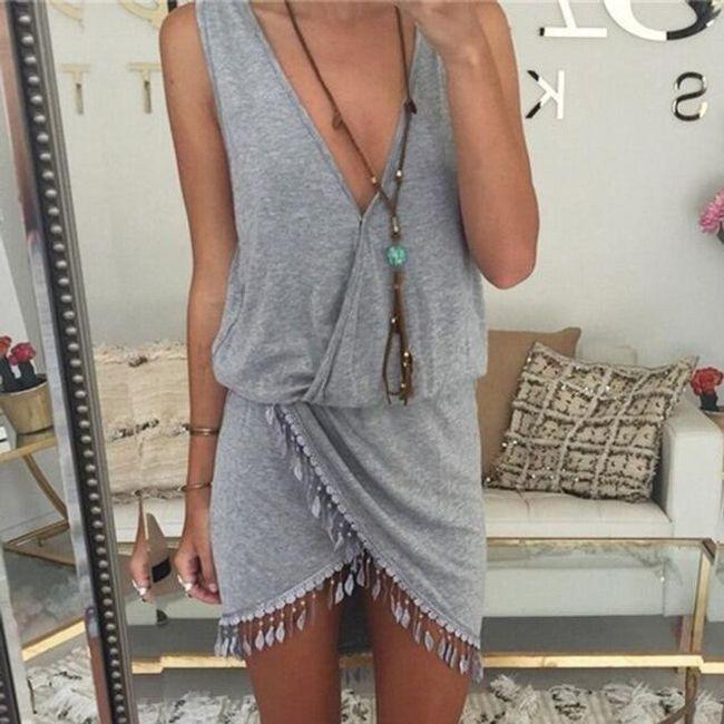 Plażowa sukienka BD10 1