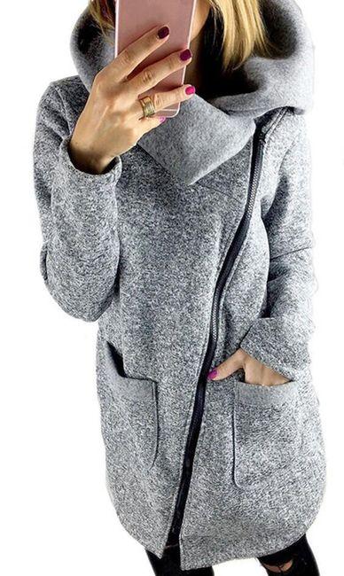 Mikina s límcem a velkými kapsami - velikost č. 8 1