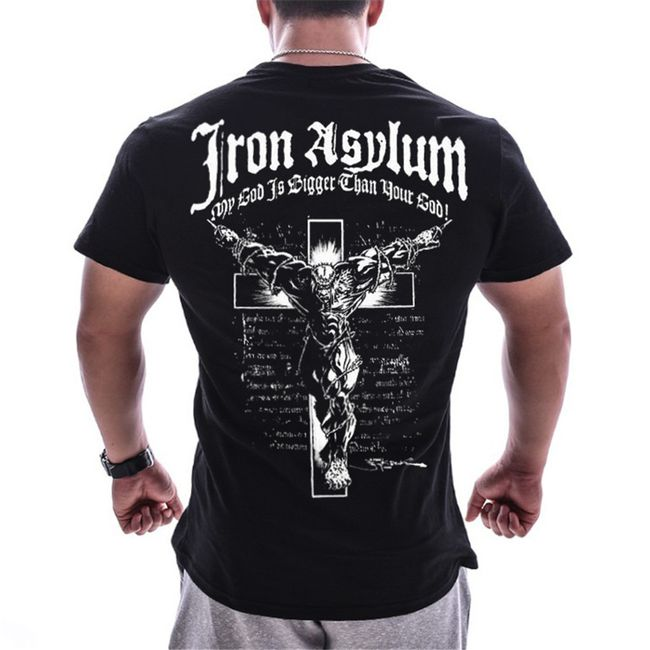 Sportos férfi póló Baptist