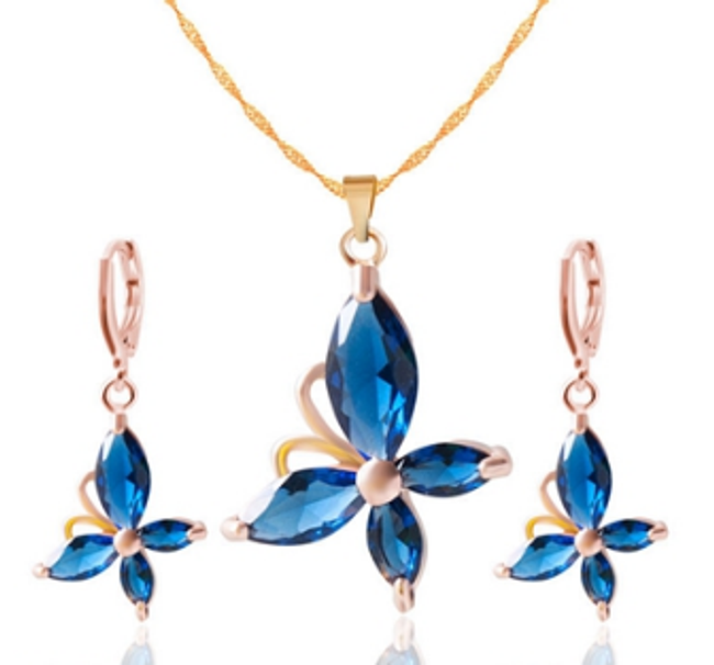 Sada šperků - motýlci 1