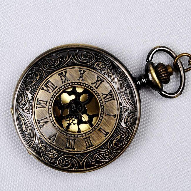Ceas de buzunar cu ornamente 1