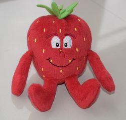 Plišana igračka u obliku voća ili povrća