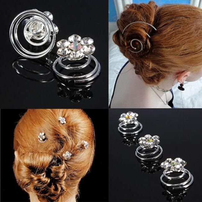 Спирали за коса - 12 бр 1