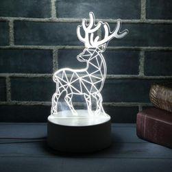Lampka LED 3D - różne motywy
