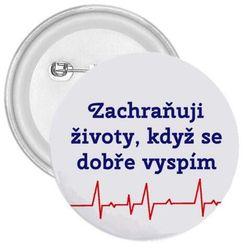 Placka Zachraňuji životy