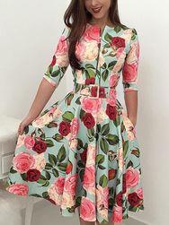 Ženska obleka Everly
