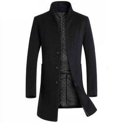 Muški kaput Johan Crna - veličina 6