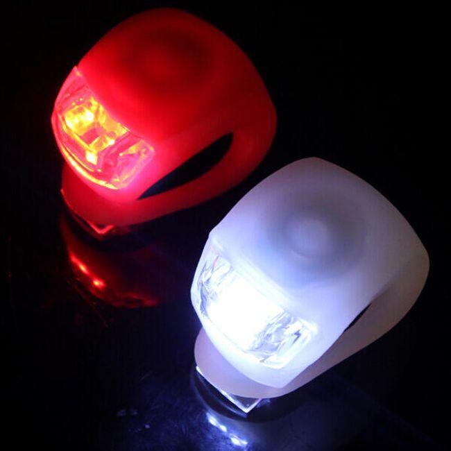 Silikonska sprednja LED lučka za kolesa 1