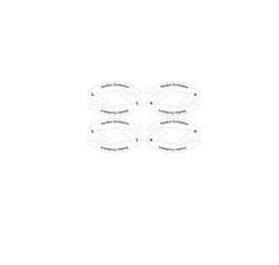 Шаблон за очни линии или сенки Lera