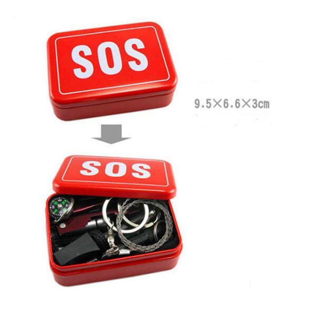 SOS multifunkční box pro přežití  1