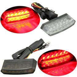 Hátsó LED-es fény a motorkerékpáron - 2 szín