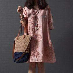 Ženska obleka Leniona Roza - velikost M