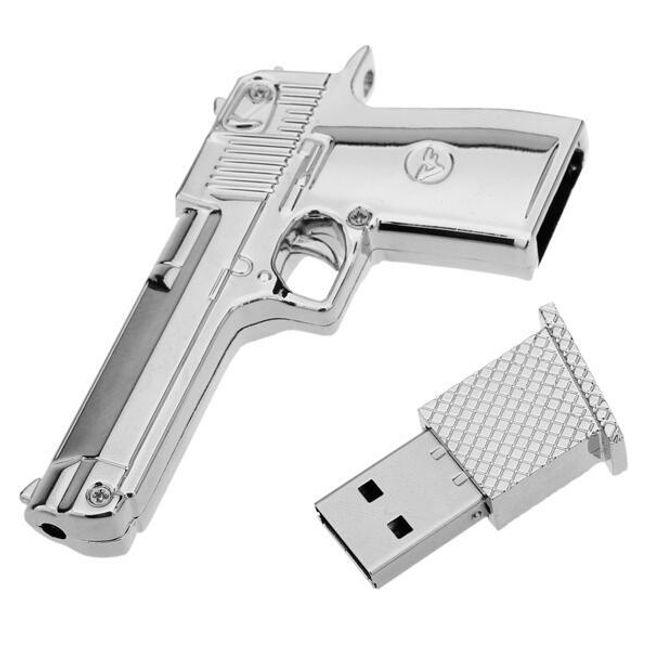 8GB Flashdisk - pistole 1