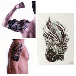 3D tatuaż tymczasowy z motywem ryby