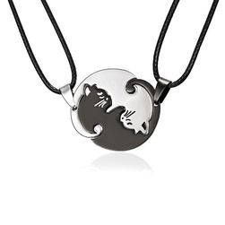 Ženske ogrlice - mačiji jin jang