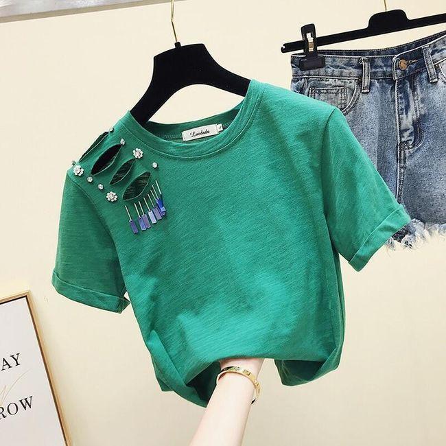 Dámské tričko s krátkým rukávem TF7037 1