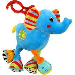 Dečija plišana igračka sa vibriracijom Slon RW_34533