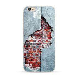 Kryt na iPhony s motivem popraskané zdi