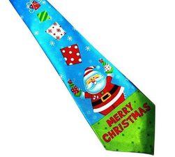 Cravată de Crăciun - 16 variante