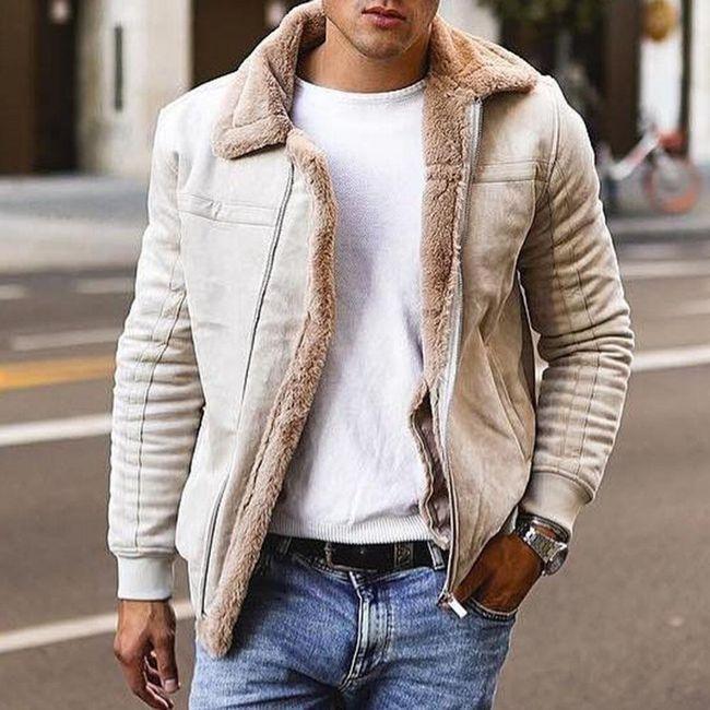 Férfi téli kabát Deepak 1