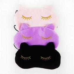 Mačija maska za spavanje - 3 boje