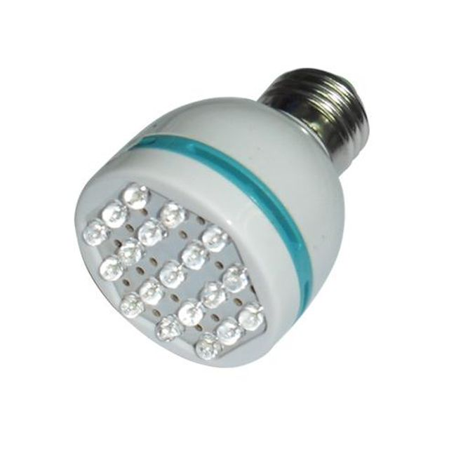 1W LED žárovka s 19 LED diodami 1
