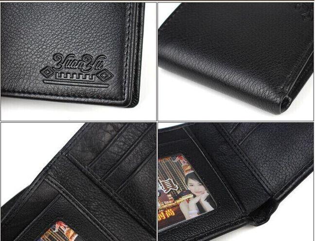 Pánská peněženka z hovězí kůže 1