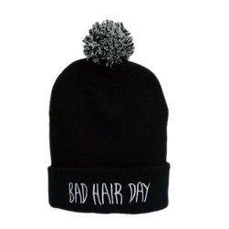 Женская зимняя шапка Bad Hair Day