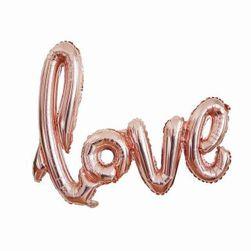 Walentynkowa dekoracja Love