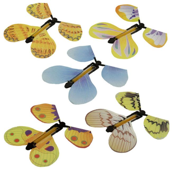 Plastový motýl - kouzelná hračka 1