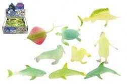 Zvieratká morská svietiace plast 6cm mix druhov RM_00410523