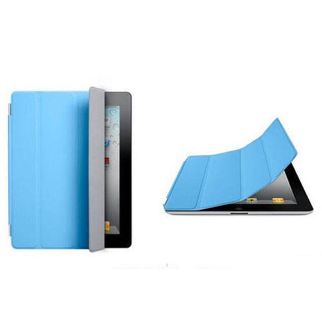 Magnetický chytrý kryt pro iPad 2 - modrý 1