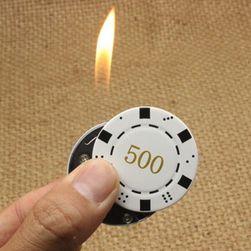 Zapalniczka w kształcie żetonu do gry