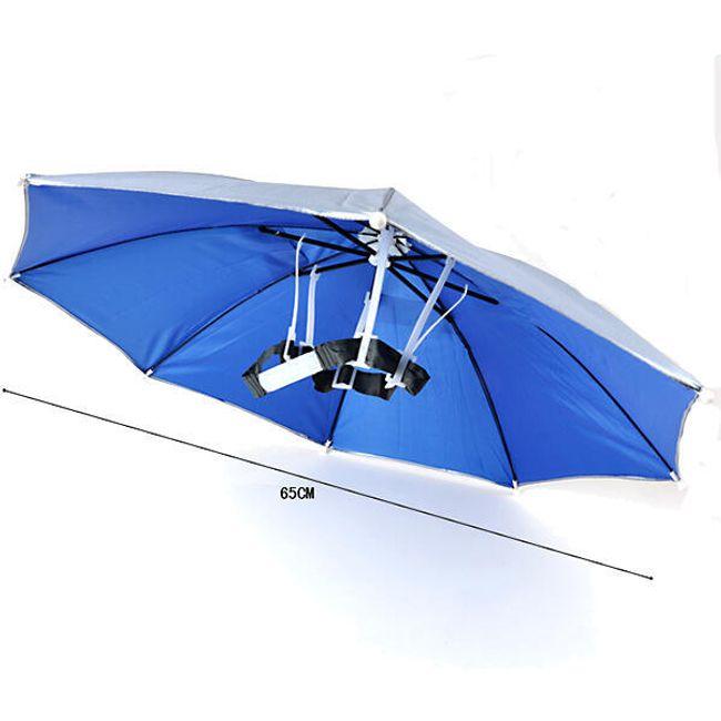 Зонт- шляпа для путешествий  1