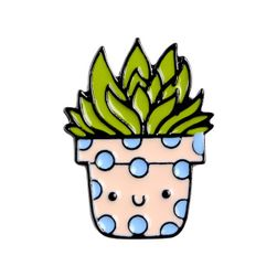 Unisex broška Kaktus