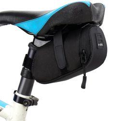 Prostokątna torebka pod siodełko rowerowe - 3 kolory