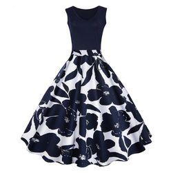 Ženska haljina u stilu vintage - 4 varijante