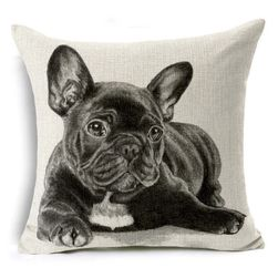 Калъфка за възглавница с куче