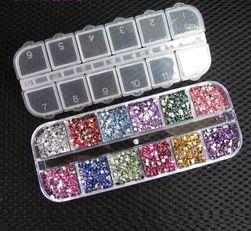 Набор декоративных камней для ногтей