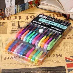 Sada barevných gelových per - 24 kusů