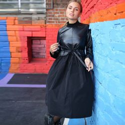 Ženska haljina sa dugačkim rukavima Nigella