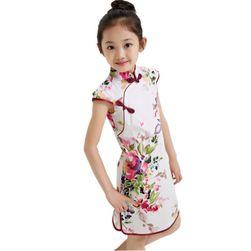 Dívčí šaty - květované, mnoho variant