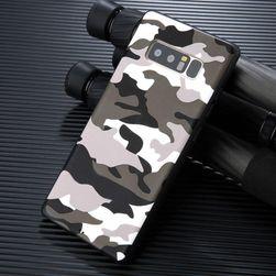 Camouflage fedél a Samsung Galaxy S8 / S8 Plus / Note 8 számára