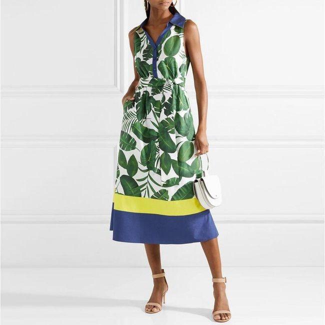 Női ruhák heveder nélkül Afrikána