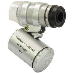 Kieszonkowy mikroskop z LED oświetleniem