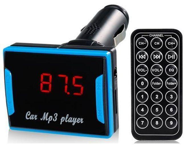 MP3 FM transmitter USB/SD/TF 1