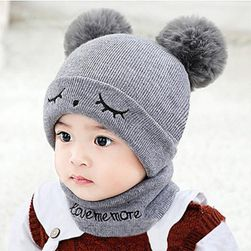 Çocuk kışlık şapka Kay