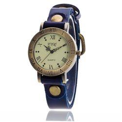 Zegarek damski w stylu vintage - 8 kolorów