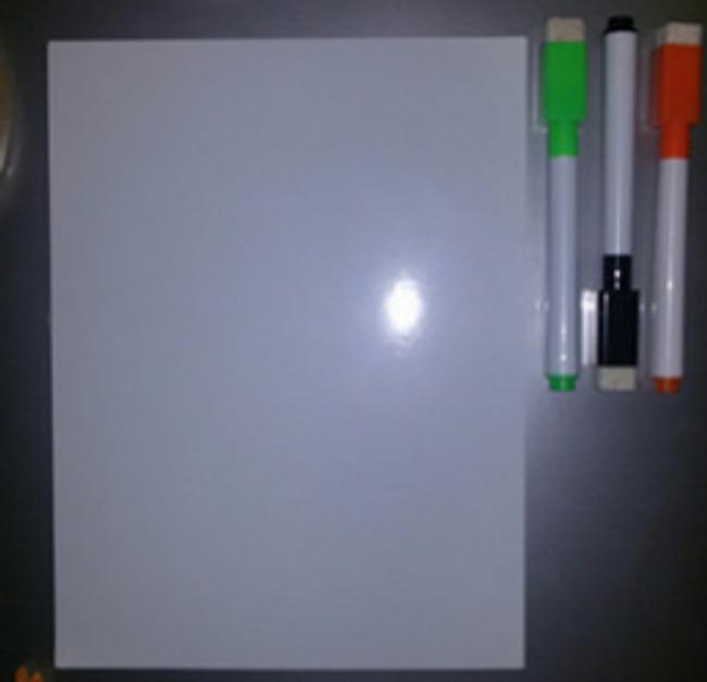 Magnetická tabule na vzkazy 1